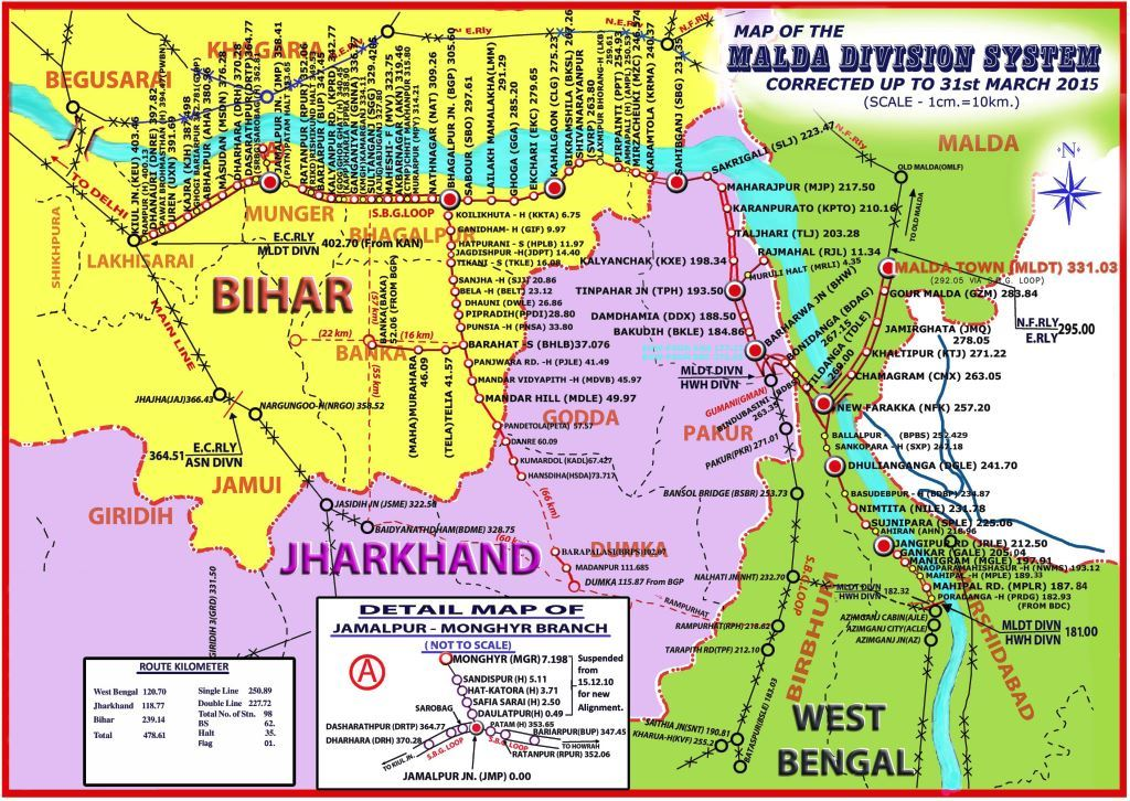 Railway Map Of India Pdf.Indian Railways Portal