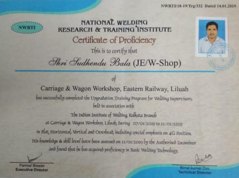 IIW 4g Training & Certification